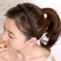 New headwear wig with tooth hair hoop hemp Braid Hoop Hair Card