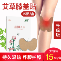 Jianerma Wormwood knee cervical paste genuine moxibustion oil paste shoulder cervical lumbar moxibustion hot paste lasting warm