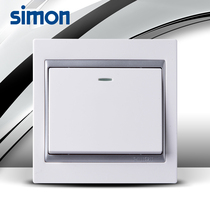 Simon Switch 58 Série Fluorescence One Open Single Control S51011BY Five Crown Simon Switch Panel