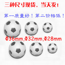 Solid 10 football soccer ball plastic red crown table Model buy full model small football table small ball