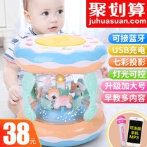 Baby music hand beat drum children beat drum can be charged early teaching puzzle 1 year s 0-6-12 months baby toys 3