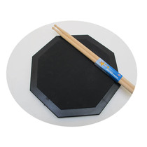 - Octagonal Silent Drum (Double Sided) Dumb Drum Pad (Diameter 33CM) Drum Pad (Send Drum)