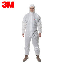 Breathable dust-proof paint particle anti-suit 3m4515 conjoined hat work protective clothing L No. 174-181cm