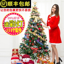Christmas decorations gift Christmas tree set home ornaments pine needle 1 8 2 1 M 1 5 M Christmas tree
