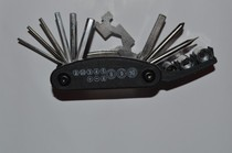 Bike service combination tool 16-in-1 mountain road bike multi-function combination tool special price.