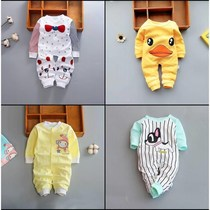 2018 New) 0-1 year old baby jumpsuit summer clothes baby clothes summer climbing clothes IV★