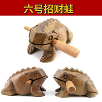 Tourism crafts Thailand lucky frog Dongba crafts No. 6 Lucky frog wooden tourism craft ornaments