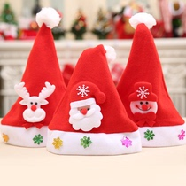 Christmas Gifts Christmas Hats Special Christmas decorations Adult childrens Christmas hat holiday supplies.
