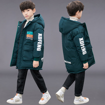Boys winter Western children thick padded cotton padded jacket 2019 new Big children boys children coat tide