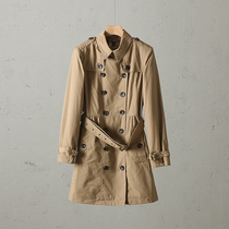51SHOP Light Luxury womens outdoor casual classic in the long section of double breasted spring wind coat jacket vx053