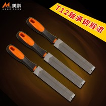 Saw file repair saw file steel setback diamond file metal fine tooth triangular file woodworking plastic setback rubbing knife