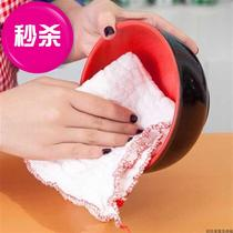 Cotton 100 kitchen cleaning thick towels with oil hundreds of new models of clean cloth cloth cloth cleaning cloth dishwashing not.