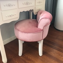 European-style ins chair modern minimalist dresser chair dressing stool on the makeup chair Nordic girls lovely bedroom.