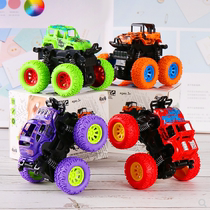 Childrens toy car boys inertial four-wheel drive off-road vehicle fall-resistant model baby car 2-3-4-5 years old.