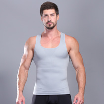 Men abdomen body sculpting corset chest stealth stereotypes tunic corset fat chest vest big belly buster summer