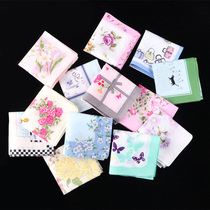 Ze slightly Ying Xuan cotton lady handkerchief handkerchief wedding cotton square female cotton ancient wind children girls handkerchief
