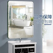 Hanging wall hanging mirror can be attached to the bathroom corner mirror home bathroom paste before hanging mirror toilet small