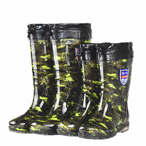 Pull back high cylinder removable warm rain boots mens boots plus velvet non-slip plus cotton shoes in the rain boots waterproof rubber shoes