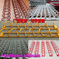 Bicycle parking rack electric car parking rack non-motor vehicle parking rack bicycle parking rack steel pipe parking rack