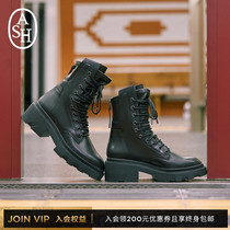 ASH shoes 2019 autumn new MADNESS series zipper fashion boots tide cool Martin boots boots