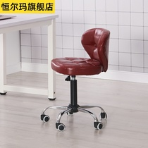 European bar chair bar chair high table chair cashier bar stool lifting swivel front backrest chair computer chair