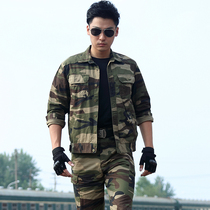 Authentic cotton camouflage suit male summer and autumn Special Forces Field Training army uniforms outdoor wear overalls