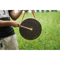 30 ~ 36CM flat bottom low side gongs hand ring gong low side gongs loud no noise flat type gongs