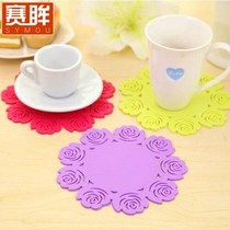 2-20 loaded large insulation mat table mat Bowl mat coaster non-slip pot pad anti-hot tea cup mat hollow flower