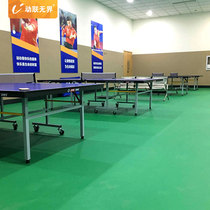 School Table Tennis plastic pvc sports plastic floor indoor thickening rubber pad 4 5mm non-slip wear-resistant mats