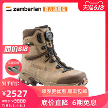 Zamberlan Zambella New Outdoor Camouflage Tactical Boots Waterproof Randonnée High Boots 4014