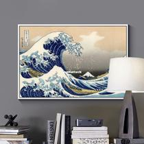unframed Canvas Print Painting Poster of the great Wave off
