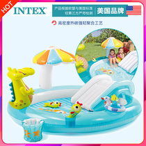 INTEX baby children Inflatable Pool Family large ocean ball pool sand pool home baby water splash pool