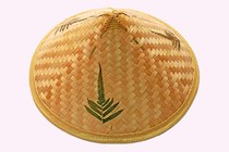 Bamboo hat sunscreen rain hat hat hat ancient female bamboo stage square dance hat hat male Knight weaving