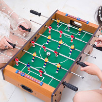Table football machine children toys 6 tabletop football table game table table type boys adult double puzzle gift