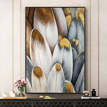 Living room decoration wall painting porch hanging painting art abstract oil painting bedroom study corridor restaurant Light Luxury mural wings