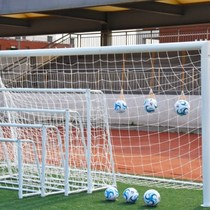 Football box standard goal portable childrens three-person indoor two-way 7 practice 5 five-a-side match tennis fans