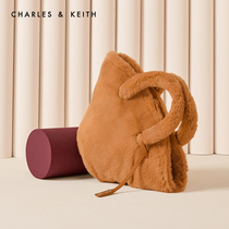 CHARLES & KEITH2019 Winter new CK2-50781021 simple pendant ornaments hand shoulder bag female