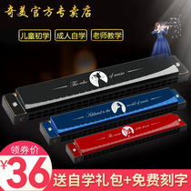 Chimei harmonica children Beginner student adult advanced 24 hole Polyphony C tune professional entry mouth organ musical instrument