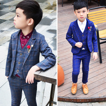 British style child childrens dress male flower girl small Suit Suit boys costumes childrens clothing two-piece suit