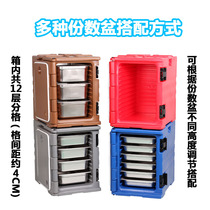 90L Food Incubator car food takeaway box delivery box commercial fast food cafeteria catering refrigerator heat