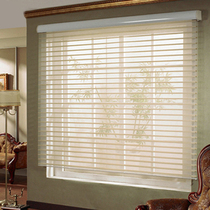 Roller blind curtain finished Shangri-La curtain shade bedroom bathroom custom blinds lift free punch