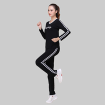 New 2020 Spring Summer Plaza Dance Costume New Skirt Dance Dress Womens Set Pure Cotton Ghost Dance Sports Fitness