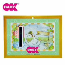 (Autorisation)Italie OKBABY indoor temperature display card room temperature card baby room temperature table