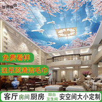 Custom living room bedroom room integrated ceiling American aluminum buckle 3D creative kitchen bathroom ceiling material