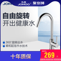 JOMOO nine animal husbandry health faucet kitchen faucet sink hot and cold wash basin faucet 33080 upgrade