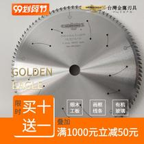 Taiwan Golden Eagle 305 x 3.0 x 25.4 x 100T5 Eagle brand precision pusher saw cross-cutting saw frame ackley saw blade.