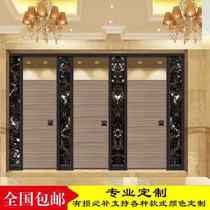 Public sanitation partition board toilet partition door Anti-special aluminum honeycomb board PVC school bathroom board