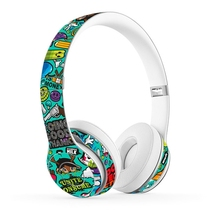Magic sound beats solo2 solo3 wired headset film solo2 solo3 universal headset stickers