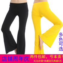 After The Fifan dance Oriental belly dance pants flared pants dress down dress female adult cotton spring and summer beginners