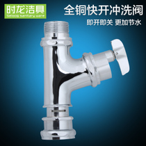 When the long public toilet hand twist old-fashioned flush valve copper delay valve flush valve toilet urine valve CL03